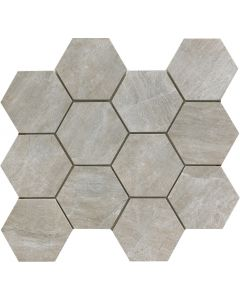 Mystone 3034 Grey Mosaico Hexagona