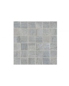 Crossover Argento Porcelain Wall & Floor Tile 60x60cm